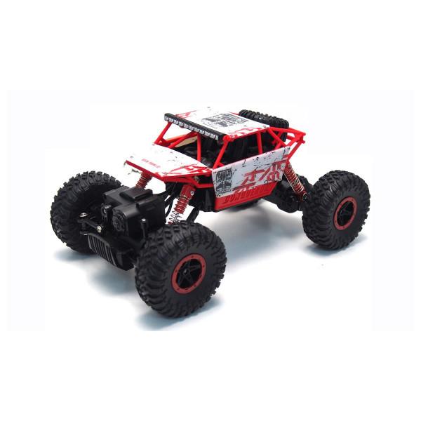 """Conqueror """"White"""" 4WD RTR 1:18 Rock Crawler"""