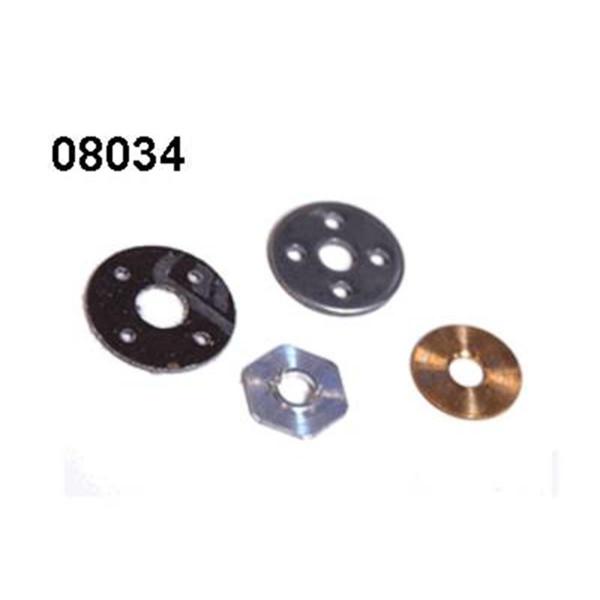 08034 Bremsplatten Set