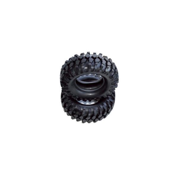 Reifen Set 96mm mit Einlagen 2 Stück