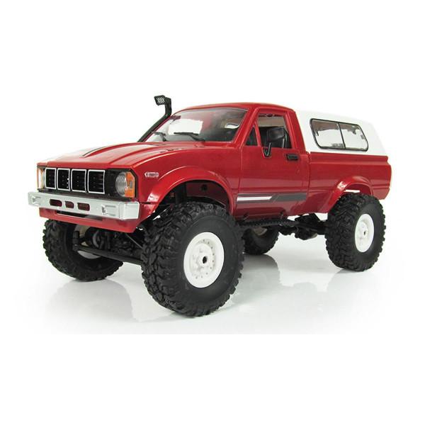 Offroad Truck 4WD 1:16 Bausatz rot