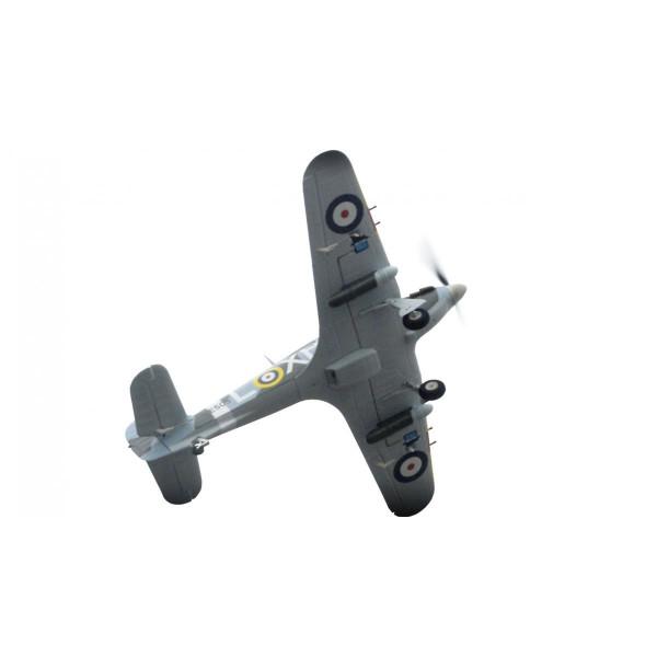 Ferngesteuertes RC Flugzeug Hurricane green PNP 4 Kanal SW 75 cm