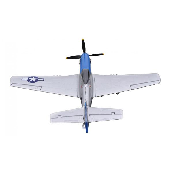 P-51D Mustang blue PNP 4 Kanal SW 75 cm