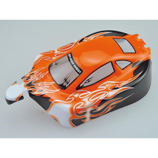 10070-1 1:10 Karosserie Buggy Booster Orange