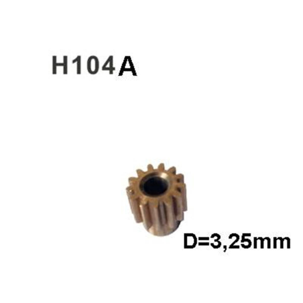 H104A Motorritzel 13Z D=3,25mm