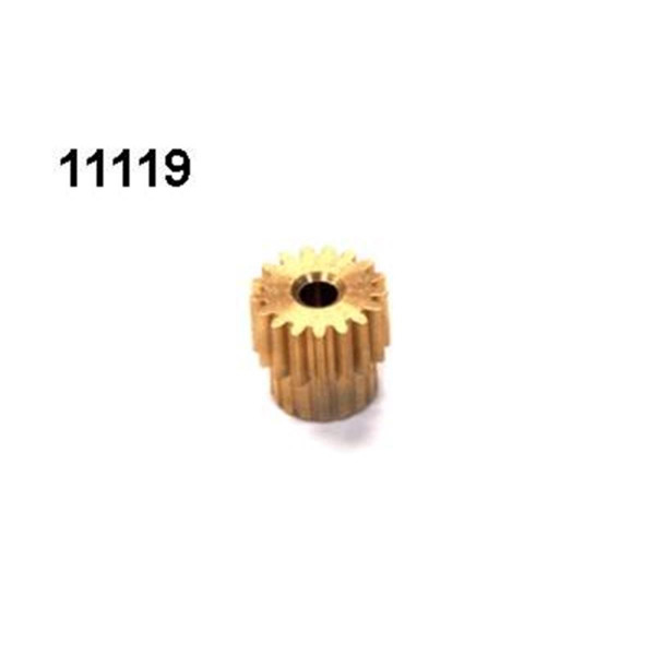 Motorritzel 17 Zähne Modul 0,6