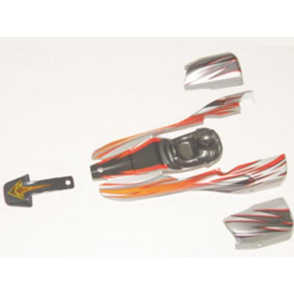 002-12040 Karosserie Set rot