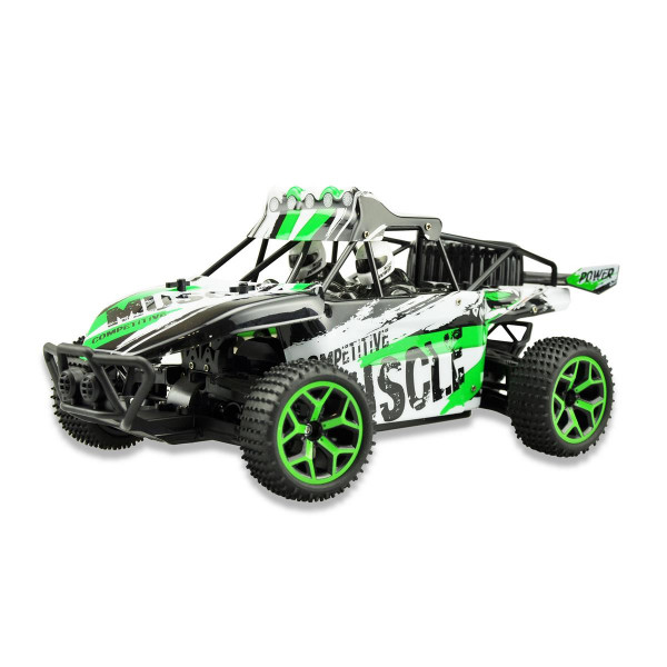 """Sand Buggy Extreme D5 """"Green"""" 1:18 4WD RTR"""