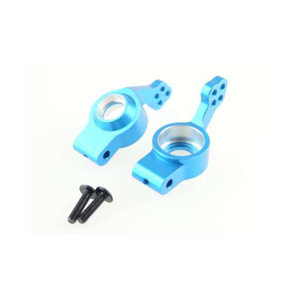 102212 Achsschenkel Aluminium blau