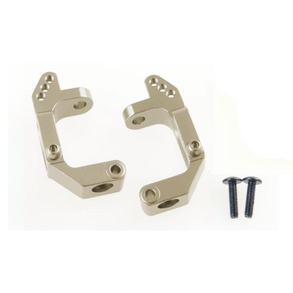 102210 C-Hub Aluminium gun metal