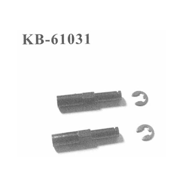 KB-61031 Radachsen vorne + E-Clips