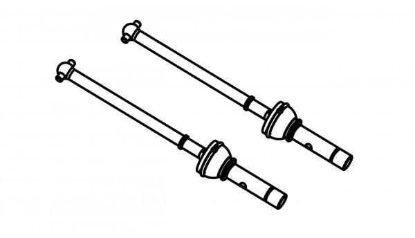 Universal Antriebswellen, 2 Stück