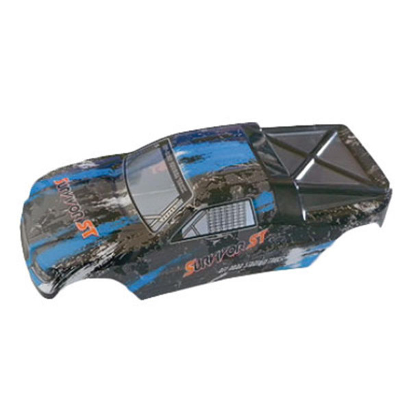 002-12686 Karosserie Truggy blau EVO 4T