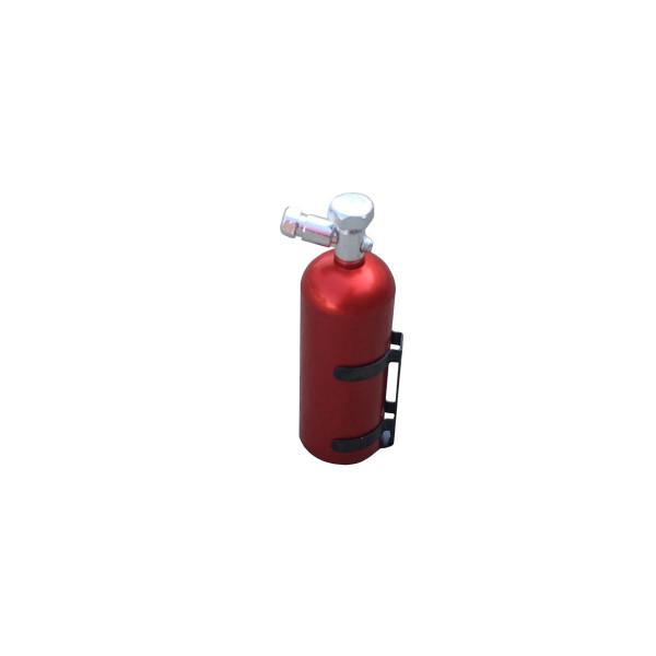 Feuerlöscher, Aluminium rot