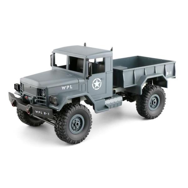 U.S. Militär Truck 4WD 1:16 Bausatz, grau