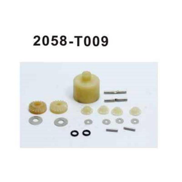 2058-T009 Brutal Pro Differential Bauteile Set