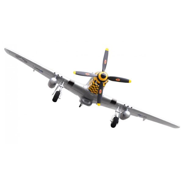 P-51D Mustang yellow PNP 4 Kanal SW 75 cm