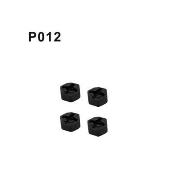 P012 Radmitnehmer 4 Stück