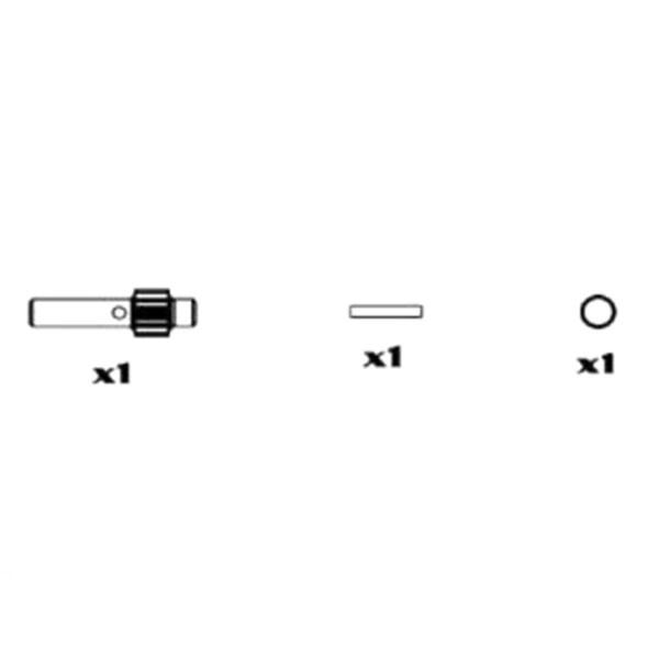 MM2203 Getriebe Set 12 Zähne Stahl, Nanda Spirit
