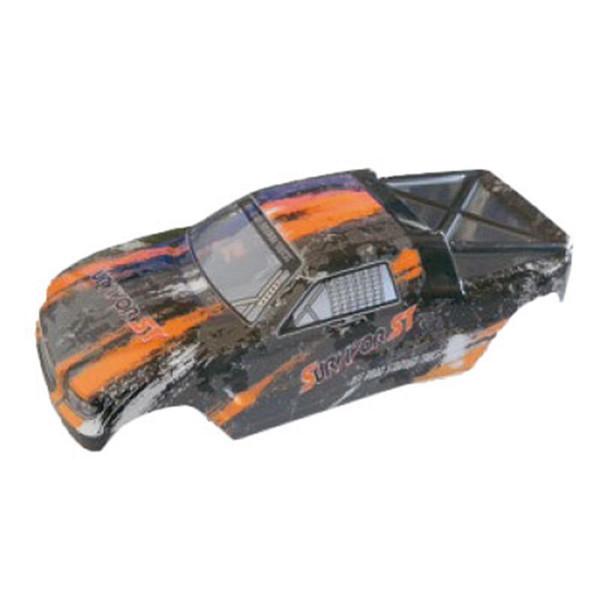 002-12684 Karosserie Truggy orange EVO 4T