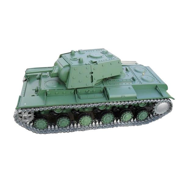 KV-1 (KW-1) R&S/2.4GHZ/Holzbox Metallketten/Metallgetriebe/QC