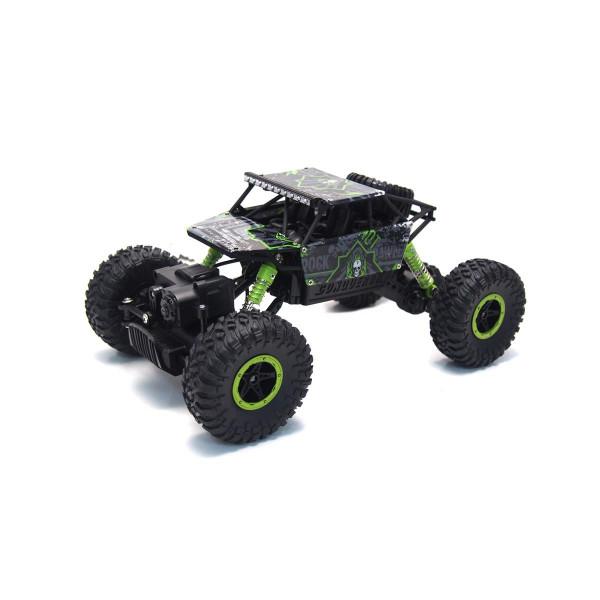 """Conqueror """"Green"""" 4WD RTR 1:18 Rock Crawler"""