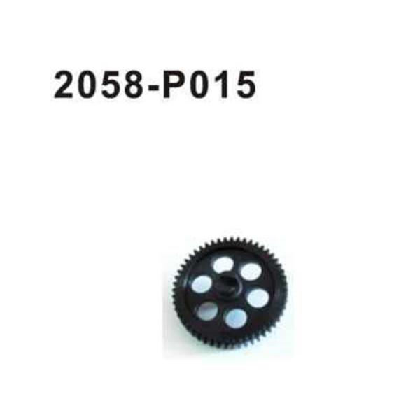 2058-P015 Brutal Pro Hauptzahnrad Kunststoff (51Z)