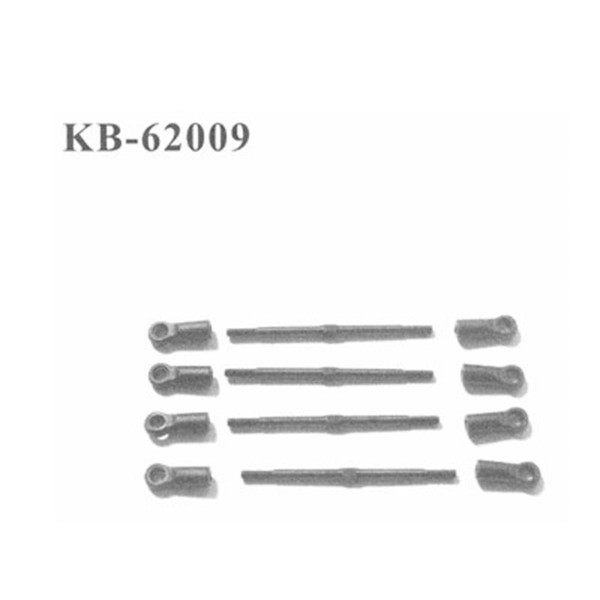 KB-62009 Querlenker oben (v/h) 4 Stück