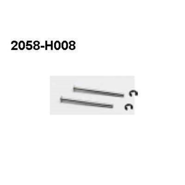 2058-H008 Achse Brutal Pro Querlenker hinten außen 2 Stüc