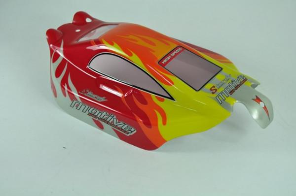 6528A-B001 Buggy Karosserie Schwarz