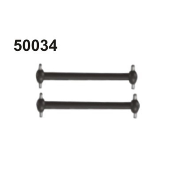 50034 Antriebswelle 133mm vorne/hinten, 2 Stück