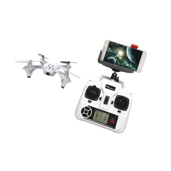 Quadrocoppter Drohne WFI Fernsteuerung mit Handy Halterung und Display