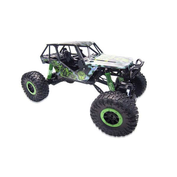 "Crazy Crawler ""Green"" 4WD RTR 1:10 Rock Crawler"