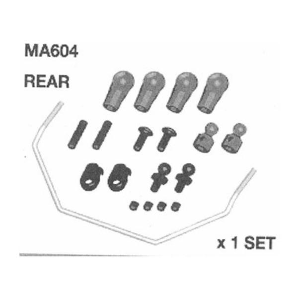 MA604-b Stabi Set hinten AM10SC