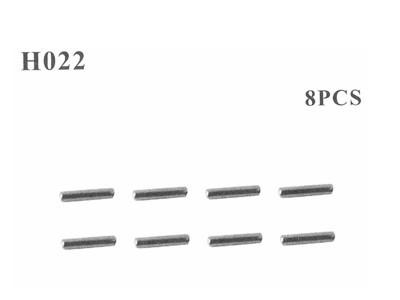 H022 Stifte 2x10 mm 8 Stück