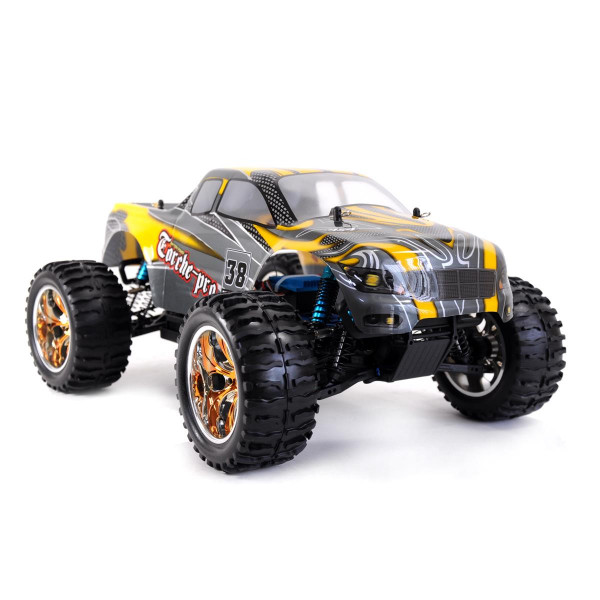 RC Amewi Torche Pro Monstertruck Brushless 4WD, 1:10, RTR, 2,4GHz, über 65km/h schnell