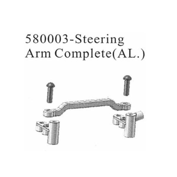 580003 Lenkungs Set Aluminium