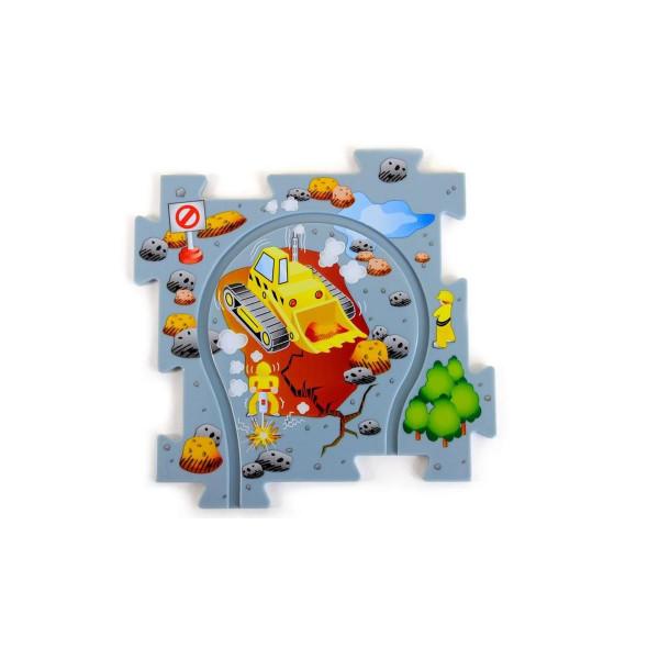 Puzzle Pilot Kran Puzzle-Set mit Fahrzeug