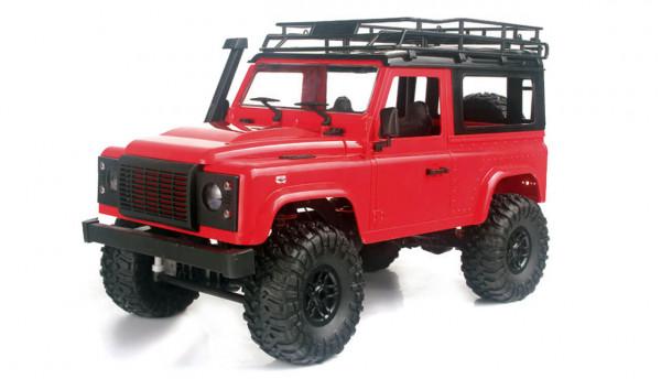 Geländewagen Crawler 4WD 1:12 RTR rot