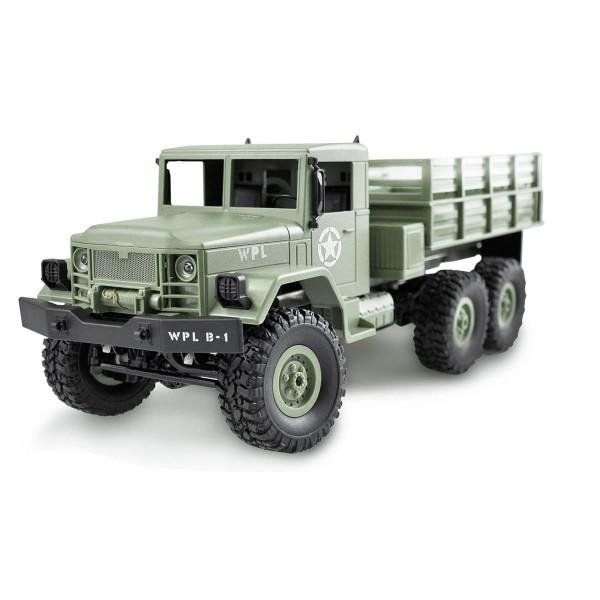 Ferngesteuerter Millitär LKW U.S. Truck 6WD grün 1:16 RTR fahrfertig montiert