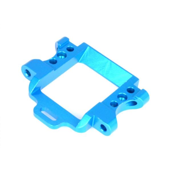 102260 Getriebehalter vorne Aluminium, blau