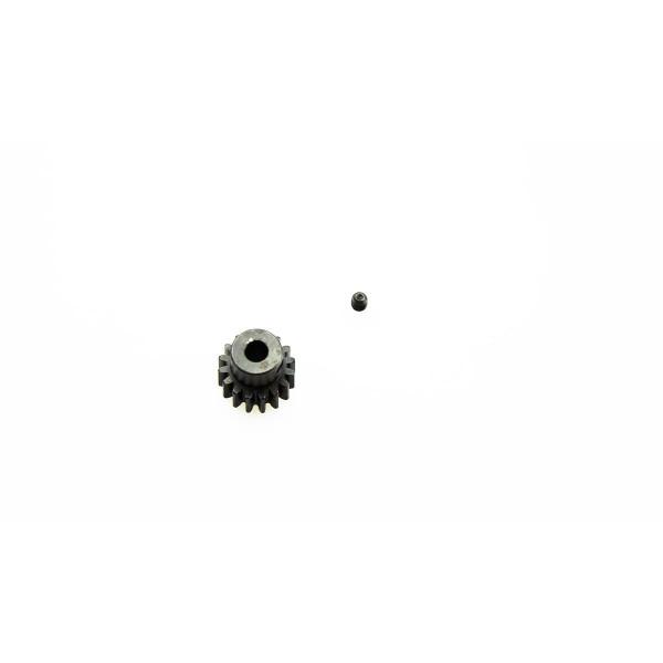 Motorritzel 16 Zähne Modul 1,0 Stahl