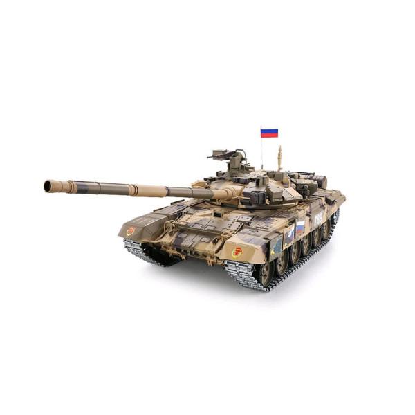 """Panzer""""T-90"""" Pro 2.4GHz 1:16 R&S/Metallgetriebe/Metallkette"""