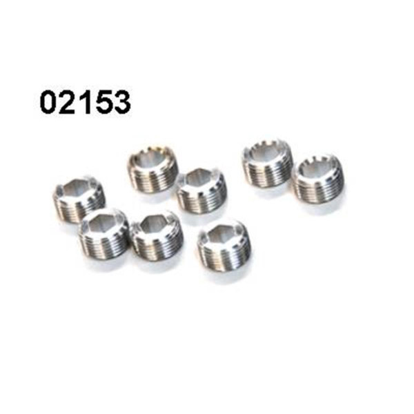 02153 Kugelkopf Mutter 8 Stück