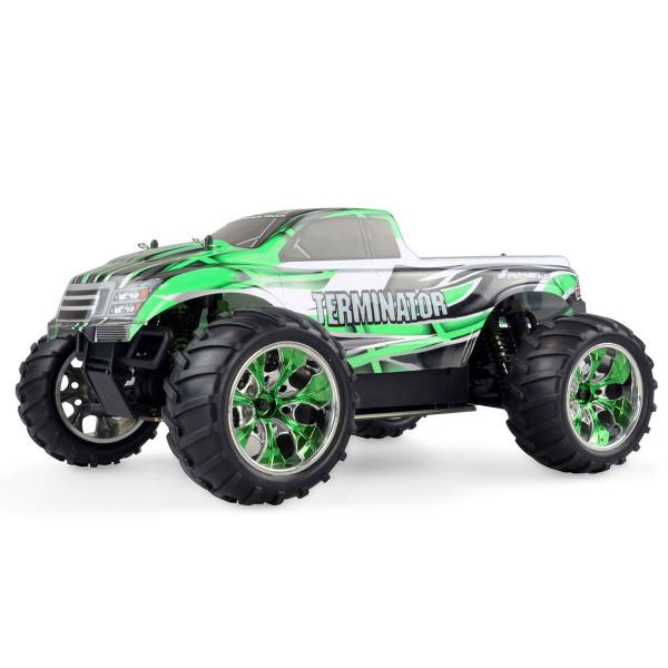 Ferngesteuerter Monstertruck Terminator Pro brushless 4WD 1:10 grün