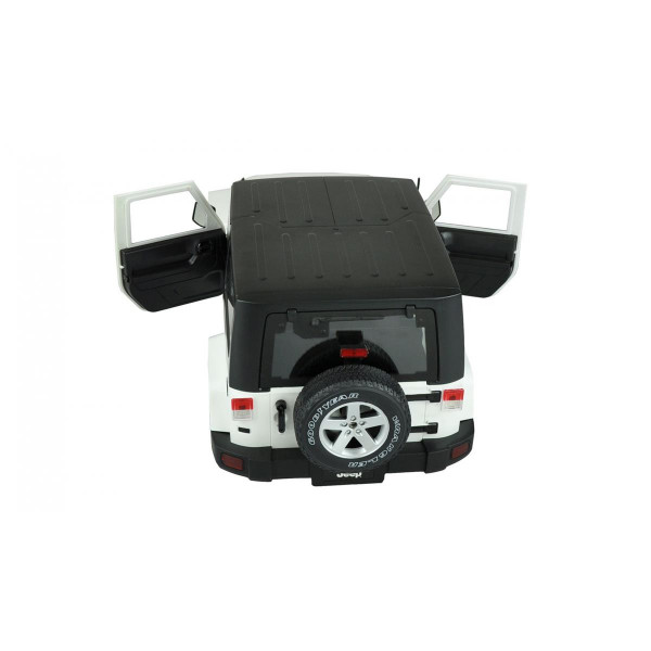 Scaler Karosserie weiß ABS Kunststoff