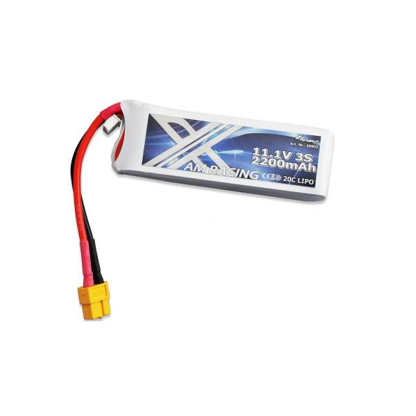LiPo Akku 3S 11,1V 2200mAh 20C Softcase, XT60