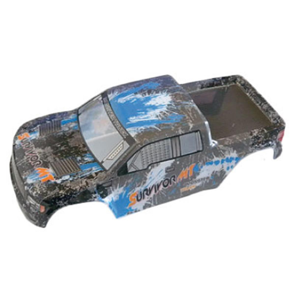 002-12689 Karosserie Truck blau EVO 4M