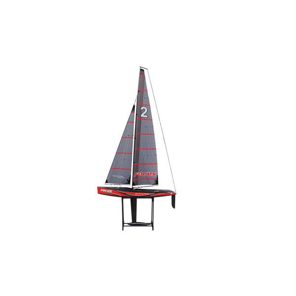 Focus V2 -100cm Racing Yacht 2,4 GHz, RTR