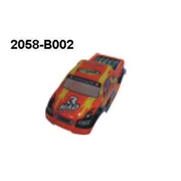 2058-B002 Karosserie Orange Monstertruck Brutal Pro