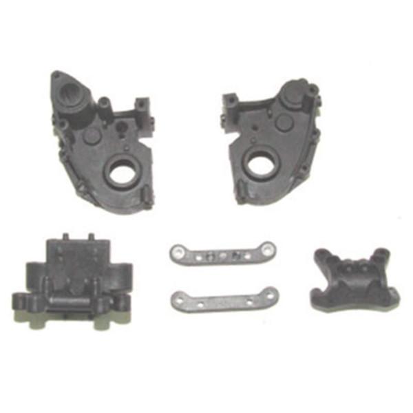 002-12005 Getriebegehäuse & Querlenkerhalter